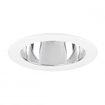 Recessed Ceiling Mounted Downlight With Directional Inner Light Source To Achieve An Effective Task Or Accent Lighting Adjule 30º