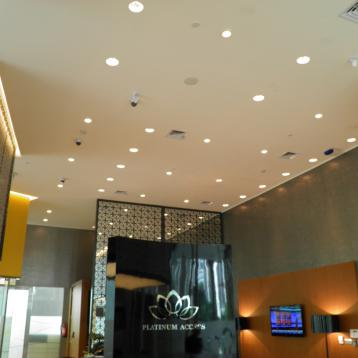 ROVASI provides lighting for the Bii: Bank Internasional Indonesia