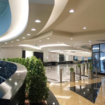 ROVASI lights up the VIP valet parking area at the Mall of the Emirates [U.A.E.]