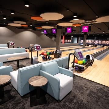 ROVASI lights up the Arc Arena Bowling in Navan, Ireland.