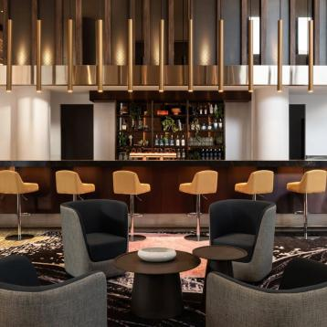 ROVASI lights up the bar of Accord and NV Fragrance Group Hotel in Perth, Australia.
