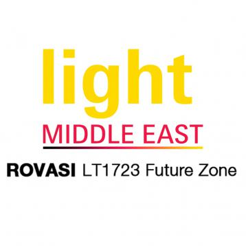 ROVASI à Light Middle East 2014 (3ème au 5ème Novembre Dubaï).