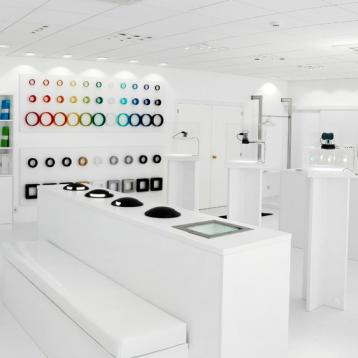 Nouveau showroom